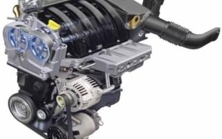 Рено Дастер: двигатель K4M