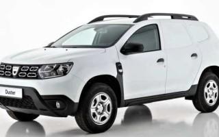На базе Dacia Duster создан фургон