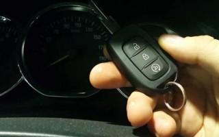Инструкция: как использовать штатный автозапуск Рено Дастер