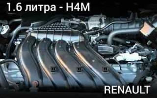 Рено Дастер: двигатель h4m