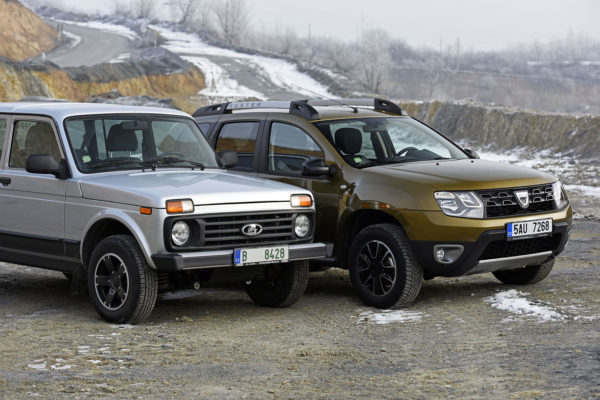 Niva vs Duster