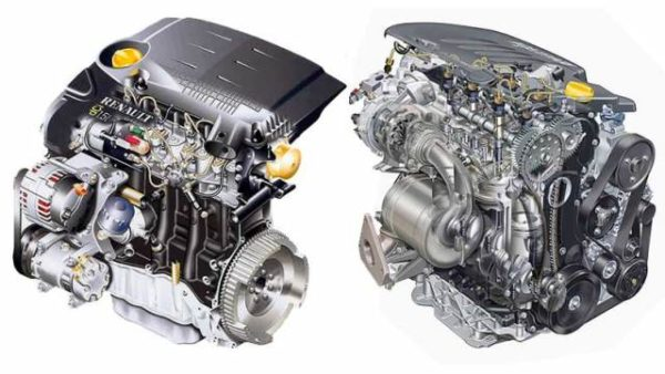 Двигатель k9k