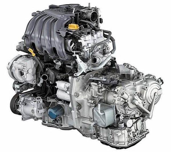 Мотор hr16de h4m