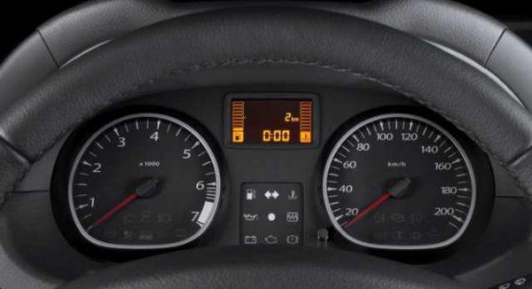 Приборы Renault Duster