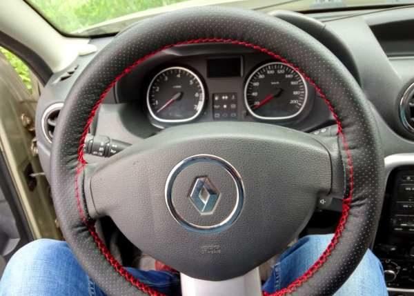 Установка перфорированной оплетки на руль
