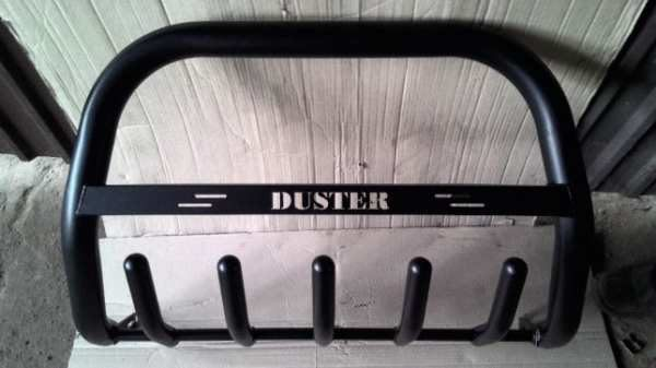 the bumper on the Renault duster