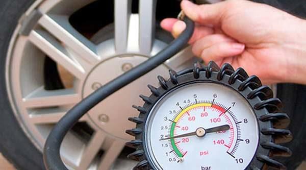 duster давление шинах