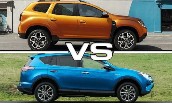rav4 vs duster