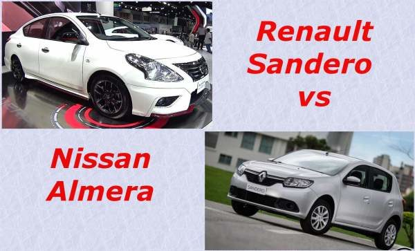 Sandero vs Almera