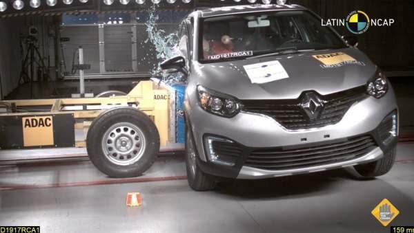 Crash Test Renault Capture